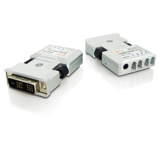 DVI Isolator STD 4x Fiber Optic