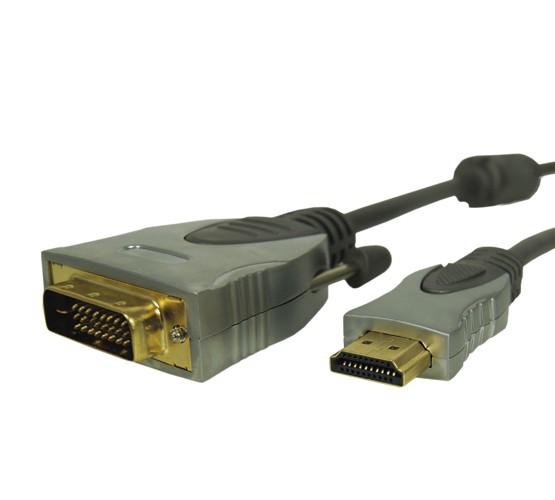 HDMI / DVI-D cable 1,5m